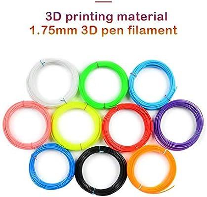 Wetour Juego de 10 filamentos para Impresora 3D, 1,75 mm, 10 m ...