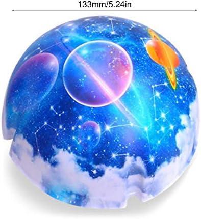 Luz De Noche Lámpara De Proyector Universo Planeta Cielo Mágico ...