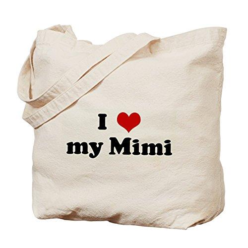 I Love my Mimi Tote bag Tote Bag by CafePress by CafePress
