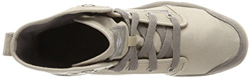 Columbia CHUKKA Waterproof Shoes Fossil Ice Grey CAMDEN Casual Beige Ancient Women's rxafr