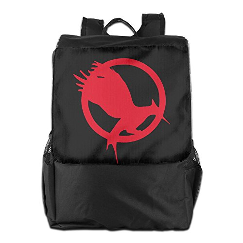 Science Fiction Plot Thriller The Hunger Games Logo Outdoor Backpack Travel Bag
