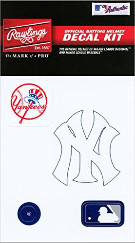 fan products of Rawlings Sporting Goods MLBDC Decal Kit, New York Yankees