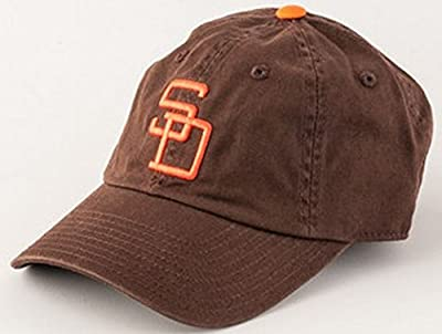 San Diego Padres MLB American Needle Ballpark Slouch Cotton Twill Adjustable Cap