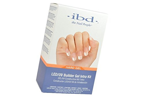 ibd LED/UV Builder Intro kit includes nail technician's four favorite builder gels in a 14 g / net wt 0.5 oz size