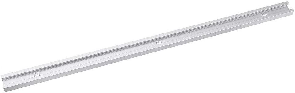 Takefuns 300 1220 mm T-Track Miter Track Jig T tornillo ranura de fijaci/ón 19 x 9,5 mm para sierra de mesa Router mesa herramienta de carpinter/ía