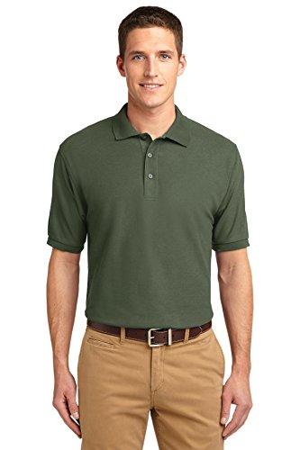 Nuovo Port Authority Touch Harvest Shirt m Clover Sport Green Seta Gold FFpnwqx4