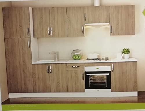 TRADEDEKOR Cocina Completa DE 3 m EN Muebles Kit MODULARES, Gran RELACION Calidad/Precio: Amazon.es: Hogar