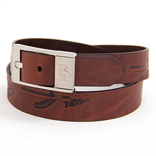 Eagles Wings Florida State University Brandish Leather Belt - Leather State University Florida