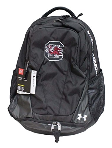 South Carolina Gamecocks Under Armour Hustle III Premium Backpack - Black by Under Armour