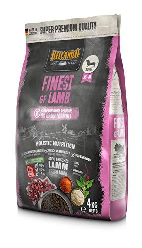 Belcando Finest GF Lamb [4 kg] getreidefreies Hundefutter   Trockenfutter für kleine & mittlere Hunde…