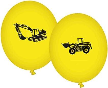 5 Stk Bauarbeiter Luftballons