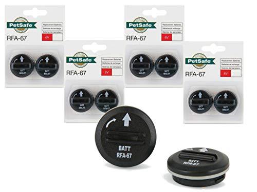 (PetSafe RFA-67 6-Volt Batteries - Economy 5-Pack - 10 batteries)