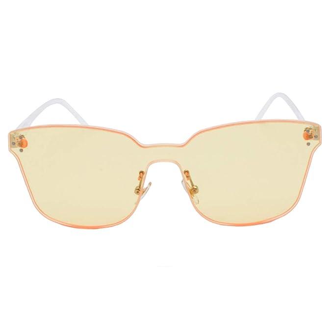 MUCHAO Gafas de sol rectangulares de gran tamaño de Unisex ...