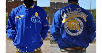 新しい。Albany状態大学zipUp刺繍ジャケットサイズXLarge B077QZWB2X