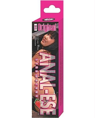 Nasstoys Anal Ese Anal Lubricant, Strawberry, 1.5 Ounce ()