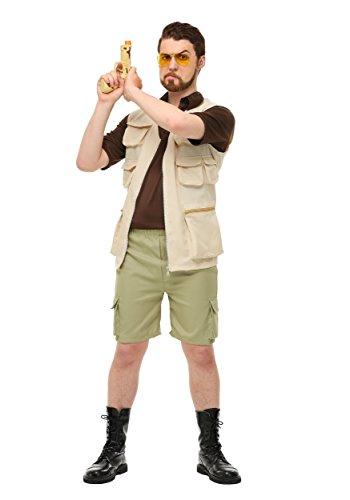The Big Lebowski Halloween Costumes (The Big Lebowski Plus Size Walter Costume 2X)
