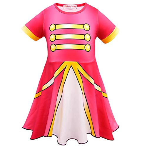 Girls Halloween Cosplay Dress for Doll Surprised.Children Princess Party Costume ()