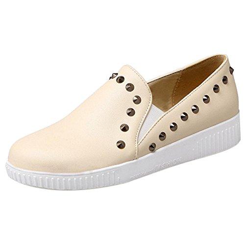 Coolcept Zapatos de Primavera para Mujer Beige