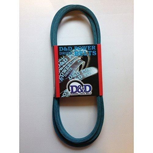 D&D PowerDrive 754-0487 MTD or CUB CADET Kevlar Replacement Belt, 1 Band, Aramid