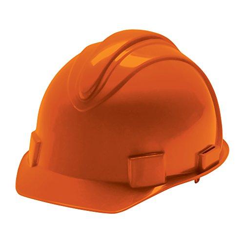 Jackson Safety Charger Hard Hat (20398), Meets ANSI Z89.1-2009, Choice of Suspension, Orange, 12 / Case