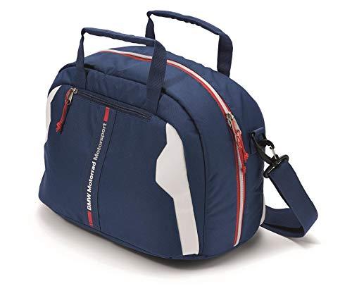 BMW Genuine Motorcycle Motorrad Motorsport Helmet Bag Blue/White/Red One Size