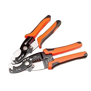 Zangen Präzision Draht Stripper Zangen Kabel Draht Abisolieren Cutter Hand Werkzeuge Multi-zweck Draht Stripper Stahl Für Elektrische