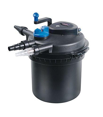CPF-5000-Bio-Druckteichfilter-SELBSTREINIGEND-incl-11-Watt-UV-C-Einheit-Teichfilter-Teich-Filter-UVC