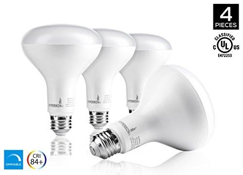 Hyperikon BR30 LED Bulb Dimmable, 9W (65W Equivalent), 2700K (Warm White), Wide Flood Light Bulb, Medium Base E26,...