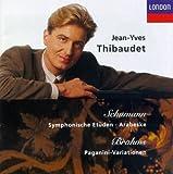 Schumann: Symphonic Etudes; Arabeske / Brahms: Paganini Variations