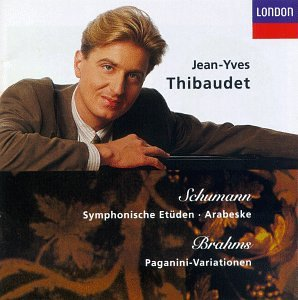 Schumann: Symphonic Etudes; Arabeske / Brahms: Paganini Variations by London Records