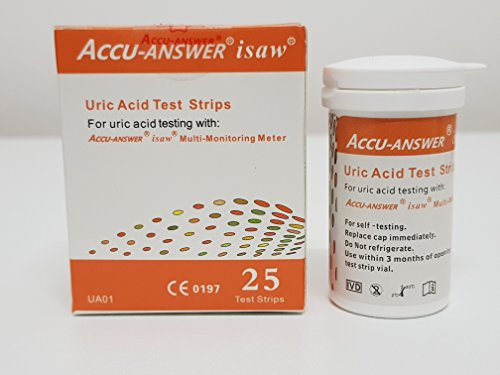 Accu-Answer isaw Uric Acid Test Strips