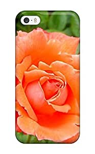 For Iphone 5/5s Tpu Phone Case Cover(rose Flower Collection)(3D PC Soft Case)