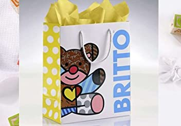Romero Britto Gift Bag w/Tissue
