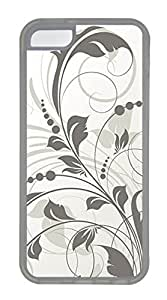 iPhone 5c Cases - Wholesale Summer Cool TPU Transparent Cases Personalized Design Edge Gray