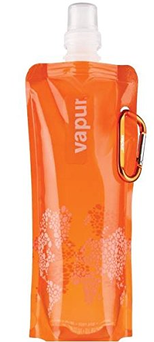 Vapur Water Bottle, Reusable, Foldable, Attachable, Freezable, Sustainable Convenience, All in One Easy to Grip, Streamline Bottle, 0.5L Water Bottle With Wide Mouth - Vapur Bottles Shades Range