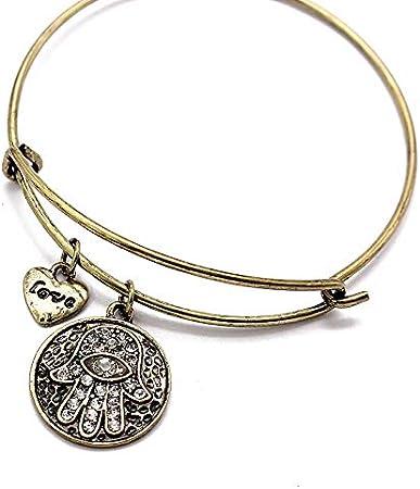 WDAIJY Pulsera Mujer,Simple Charm Bracelet Bangle Alambres Transversales Femme Manguito Pulseras para Mujeres Precioso Regalo Famosa Joyería