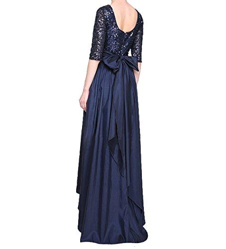 Abendkleider Damen Langarm Festlichkleider Lang 3 Lo Brautmutterkleider 4 Pailletten Charmant Hi Mutterkleider Blau Royal vUdqxwCqf