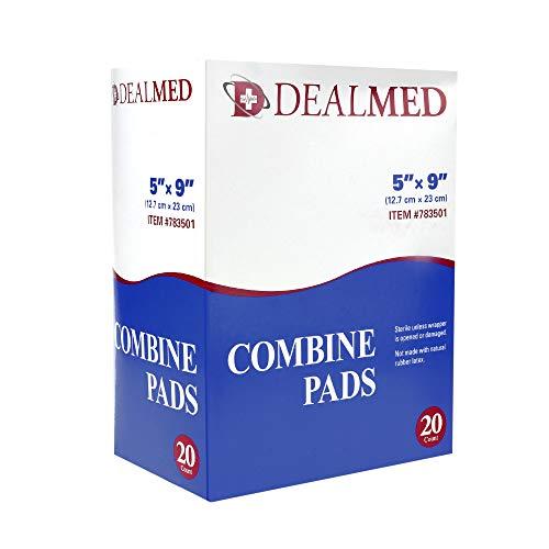 Dealmed Sterile Abdominal (ABD) Combine Pads, 5