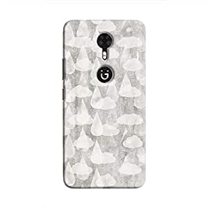 Cover It Up - Grey Rain Gionee A1 Hard Case