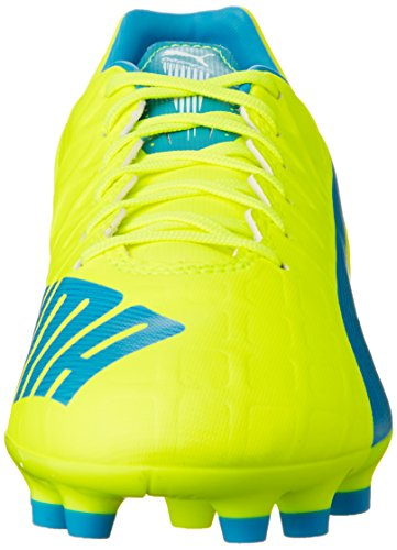 Puma Jaune de 4 AG Safety 04 Football Chaussures Evospeed white Yellow Gelb atomic Blue 4 Homme UxgFU8