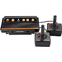 Atari Flashback 8 Black, Orange, Red - Game Consoles (NES/SNES, Flash, 100-240, 50-60, Black, Orange, Red, AV)