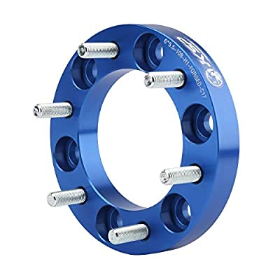 KSP 6X5.5 Blue Wheel Spacers 1 Inch M12x1.5 Thread 108mm Hub Bore Wheel Adapters for Tacoma 4WD,1984-2020 4Runner,2000-2006 Tundra,2007-2020 FJ Cruiser: Industrial & Scientific