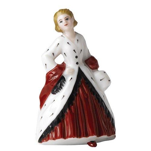 - Royal Doulton Miniature Pretty Ladies: The Ermine Coat
