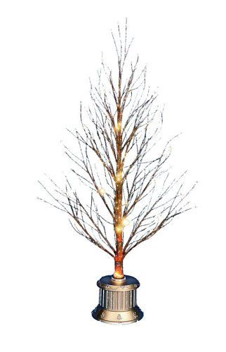 Premier 1.2m Brown Fibre Optic Twig Tree - Premier 1.2m Brown Fibre Optic Twig Tree: Amazon.co.uk: Kitchen & Home