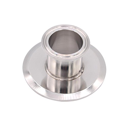Dernord Sanitary Concentric Reducer Tri Clamp Clover Stainless Steel 304 Sanitary Fitting End Cap Reducer (Tri Clamp Size: 3 inch x 1.5 inch) by Dernord (Image #1)