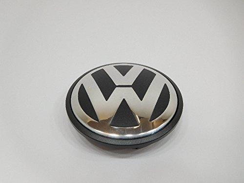Genuine Wheel Center Hub Cap Black Anthracite Metallic For VW Touareg 2006-2010