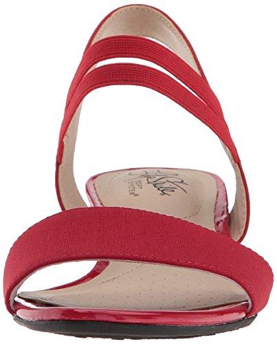 Yolo Sandal Women's Red Wedge LifeStride Zq6xU6