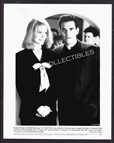 - 8x10 Photo~ to DIE for ~1995 ~Nicole Kidman ~Matt Dillon