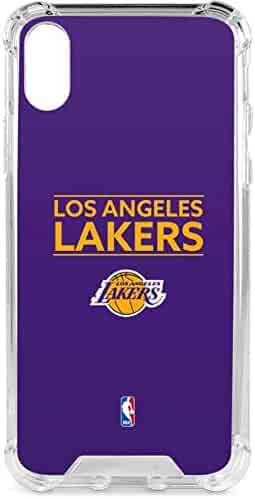 7e4b2c05f1b7e4 Los Angeles Lakers iPhone X Case - Los Angeles Lakers Standard - Purple