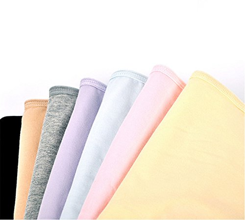 La Ropa Interior Las Mujeres La Entrepierna De Algodón De Microfibra Pantalones De Cintura Alta Cintura De La Ropa Interior Triángulo De Tela De Algodón A4